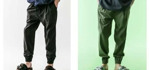 monkey timeから清涼感のあるポリエステル素材を使用したドロップシルエットのジョガーパンツ「PE TRO DROP JOGGER」が5月中旬発売 (モンキータイム)