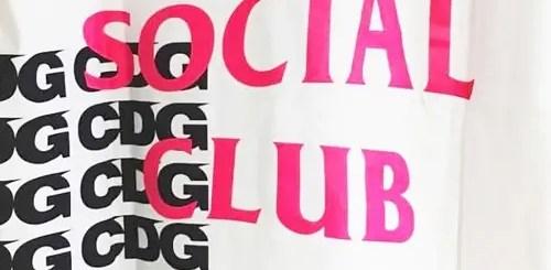 店舗限定!Comme des Garçons × Anti Social Social Club 「BREAKING NEWS GOLDEN WEEK CAMPAIGN」にて展開 (コム デ ギャルソン ソーシャル ソーシャル クラブ)