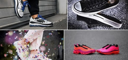 "【まとめ】5/10発売の厳選スニーカー!(NIKE AIR MAX 98 ""Racer Blue"")(CONVERSE ADDICT 2018 SP II CHUCK TAYLOR CANVAS GORE-TEX OX)(""AIR MAX 97 PLUS/AIR MAX PLUS 97"" Racer Pink)(WMNS AIR MAX 97 ULTRA PREMIUM ""Confetti"" Vast Grey)他"
