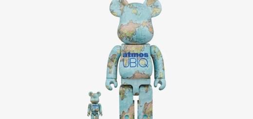 BE@RBRICK × atmos × UBIQのトリプルネームが大小サイズで5月発売 (ベアブック アトモス ユービック)