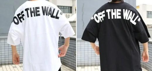 肩幅いっぱいに「OFF THE WALL」のプリント!VANS × FREAK'S STORE 別注!S/S TEEが8月上旬発売 (バンズ フリークスストア)
