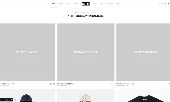 KITH MONDAY PROGRAM 2018年 第21弾が海外5/21発売予定 (キス)
