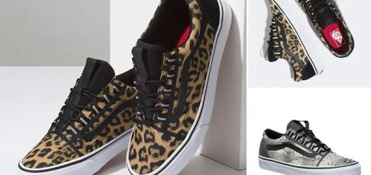 "VANS NYLON OLD SKOOL GHILLE ""Leopard/Snake"" (バンズ ナイロン オールドスクール ギリー ""レオパード/スネーク"")"
