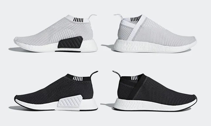 """6/1発売予定!adidas Originals NMD_CS2 PRIMEKNIT {PK} """"White/Core Black"""" (アディダス オリジナルス エヌ エム ディー シティ ソック プライムニット """"ホワイト/コア ブラック"""") [D96743,96744]"""
