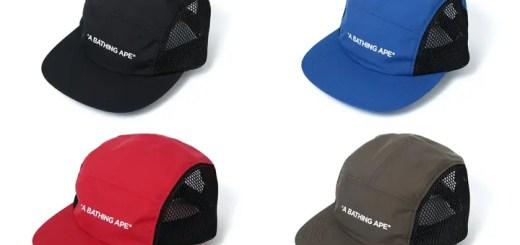 A BATHING APEからテキストロゴを配置したシンプルなキャップ「JET CAP」が6/2発売 (ア ベイシング エイプ)