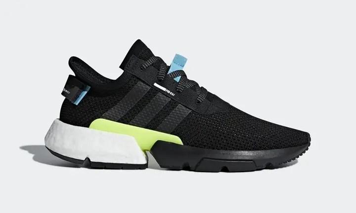 """6/16発売予定!adidas P.O.D.-S3.1 """"Core Black"""" (アディダス ピーオーディ """"コア ブラック"""") [AQ1059]"""