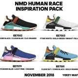 """【リーク】2018年11月発売予定!Pharrell Williams x adidas Originals NMD TRAIL HU """"Inspiration Pack"""" (ファレル・ウィリアムス アディダス オリジナルス エヌ エム ディー トレイル ホーリー ヒューマン レース """"インスピレーション パック"""") [EE7579,7581,7582,7583]"""