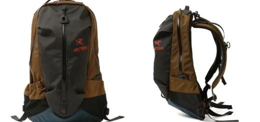 BEAMSならではのクレイジー配色で仕上げた ARC'TERYX ARRO 22 18AW コラボバックパックが8月中旬発売 (ビームス アークテリクス)