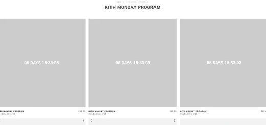 KITH MONDAY PROGRAM 2018年 第26弾が海外6/25発売予定 (キス)