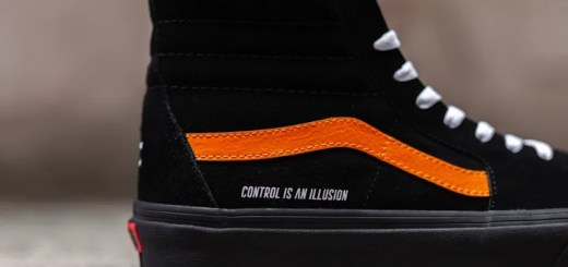 "Coutié x VANS SK8-HI ""CONTROL IS AN ILLUSION"" CUSTOM (クーティー バンズ スケートハイ)"