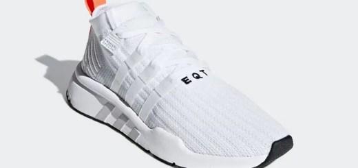 """7/19発売!アディダス オリジナルス エキップメント サポート ミッド ADV プライムニット """"ホワイト/グレー ワン"""" (adidas Originals EQT SUPPORT MID ADV PRIMEKNIT {PK} """"White/Grey One"""") [B28133]"""