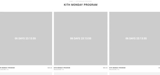 KITH MONDAY PROGRAM 2018年 第27弾が海外7/2発売予定 (キス)