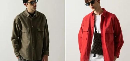 WEB限定!BEAUTY&YOUTH コーデュロイ 2ポケット オーバーサイズ シャツ 3カラーが8月上旬発売 (ビューティアンドユース)