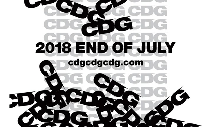 COMME des GARCONS 新ブランド「CDG」のオンラインストアが7月下旬オープンとアナウンス (コム デ ギャルソン シーディージー)