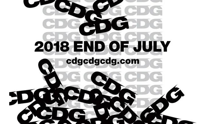 COMME des GARCONS 新ブランド「CDG」のオンラインストアが7月下旬オープンとアナウンス (コム デ ギャルソン シーディージー)