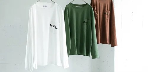 MHL. × URBAN RESEARCH 別注!PRINTED LONG-SLEEVE TEEが8月中旬発売 (アーバンリサーチ)
