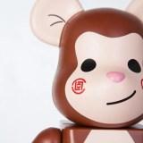 """エディソン・チャンのアルバム「A Little Monkey」からインスパイアされた""""The Monkey"""" BE@RBRICK 400%がCLOTにて発売 (クロット ベアブリック)"""