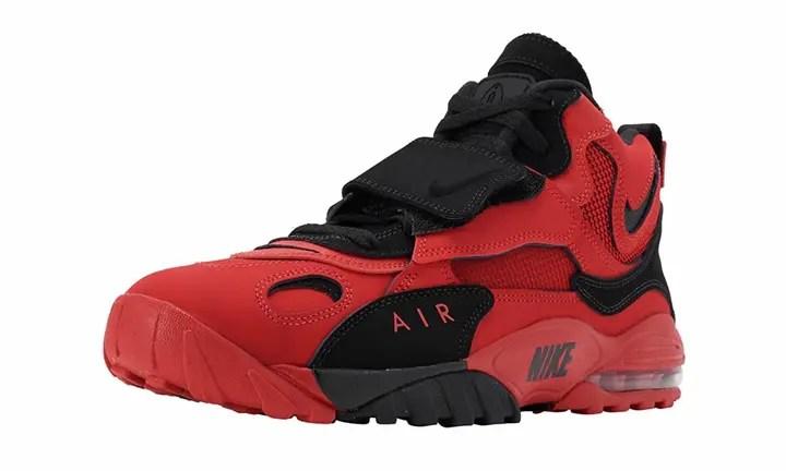 """ナイキ エア マックス スピード ターフ """"ユニバーシティ レッド/ブラック"""" (NIKE AIR MAX SPEED TURF """"University Red/Black"""") [AV7895-600]"""