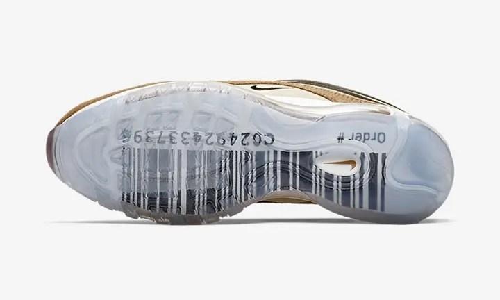 """【オフィシャルイメージ】ナイキ エア マックス 97 """"バーコード"""" (NIKE AIR MAX 97 """"BarCode"""") [921826-201]"""
