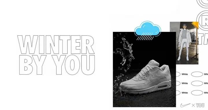【NIKE iD】あらゆる天候に適したトリプルホワイトカラー!WINTER WHITE BY YOU (ナイキ)