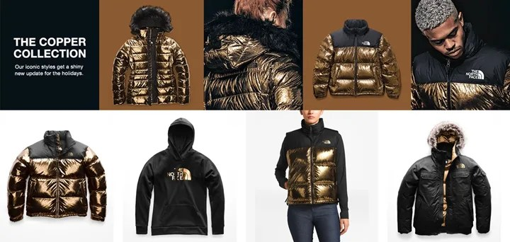"THE NORTH FACE ""COPPER CAPSULE COLLECTION"" (ザ・ノース・フェイス)"