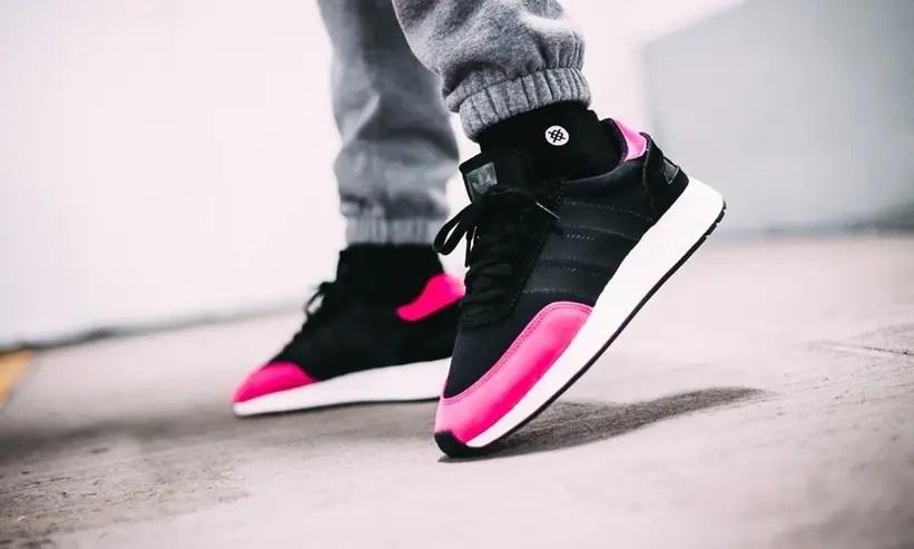 "adidas Originals I-5923 ""Core Black/Shock Pink"" (アディダス オリジナルス I-5923 ""コア ブラック/ショックピンク"") [BD7804]"