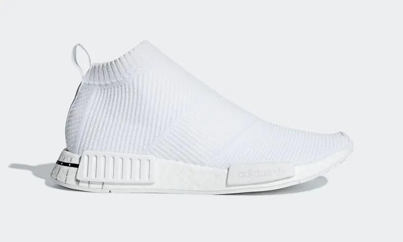 "adidas Originals NMD_CS1 {CITY SOCK} ""White"" (アディダス オリジナルス エヌ エム ディー シティ ソック ""ホワイト"") [BD7732]"