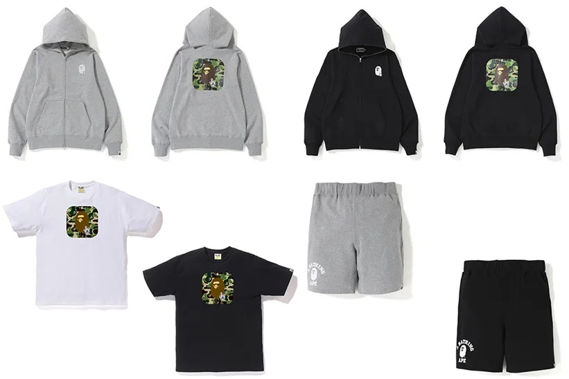 A BATHING APE ONLINE EXCLUSIVE 新作がリリース (ア ベイシング エイプ オンライン 限定)