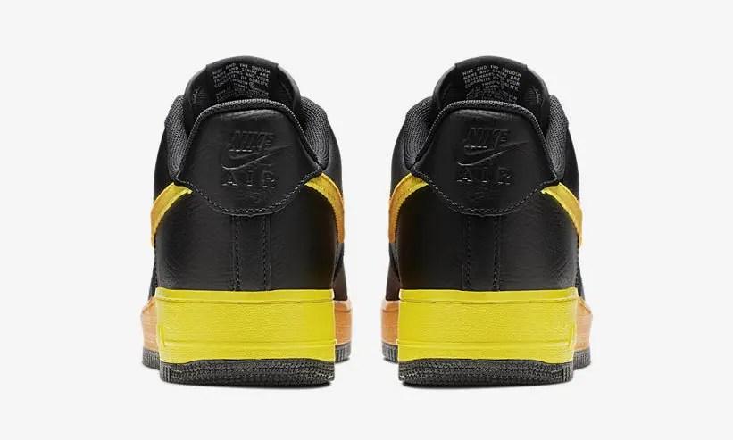 """【オフィシャルイメージ】ナイキ エア フォース 1 07 ロー """"ブラック/オレンジピール"""" """"ヴァストグレー/ハイパーグレープ"""" (NIKE AIR FORCE 1 07 LOW """"Black/Orange Peel"""" """"Vast Grey/Hyper Grape"""") [CJ0524-001,002]"""