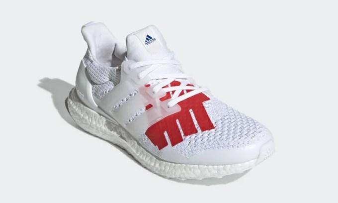 """5/1発売!UNDEFEATED × adidas ULTRA BOOST """"WhiteBlack/Red"""" (アディダス アンディフィーテッド ウルトラ ブースト """"ホワイトブラック/レッド"""") [EF1968]"""