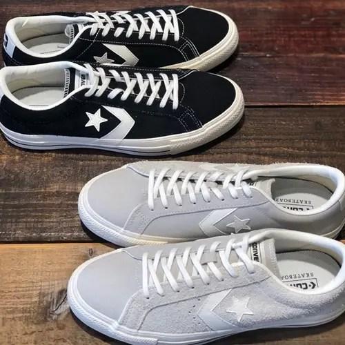 "CONVERSE PRORIDE SK OX ""Black/White"" (コンバース プロライド SK OX ""ブラック/ホワイト"")"