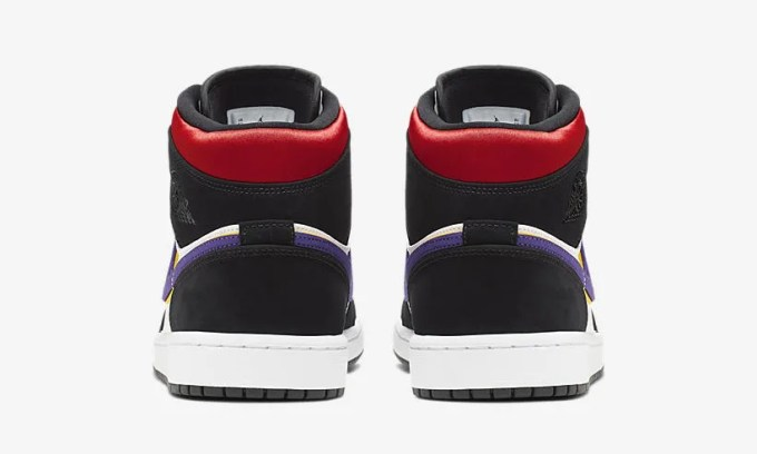 """ナイキ エア ジョーダン 1 ミッド SE """"フイールドパープル/ホワイト/ジムレッド"""" (NIKE AIR JORDAN 1 MID SE """"Field Purple/White/Gym Red"""") [852542-005]"""