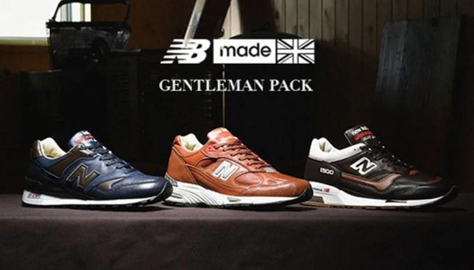 ニューバランスから米国紳士を思わせる上品で深みのある「GENTLEMAN PACK M1500 GNB/M991 GNB/M577 GNB」が発売 (New Balance)