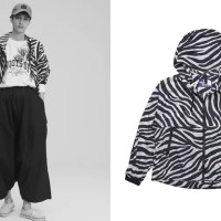 "THE NORTH FACE PURPLE LABEL 2020 S/S ""PERTEX_ Zebra Print Mountain Wind Parka"" (ザ・ノース・フェイス パープルレーベル 2020年 春夏)"