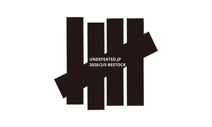 UNDEFEATED オンライン リストック販売が2/5スタート (アンディフィーテッド)
