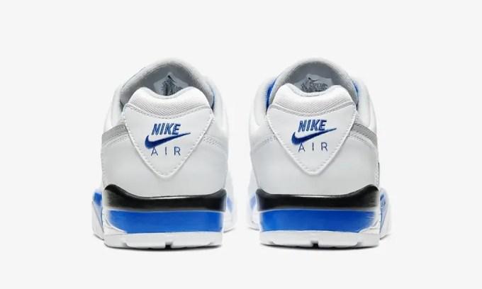 """ナイキ エア クロス トレーナー 3 ロー """"ホワイト/レーサーブルー"""" (NIKE AIR CROSS TRAINER 3 LOW """"White/Racer Blue"""") [CJ8172-100]"""
