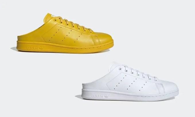 アディダスオリジナルスから、かかとのないミュールスタイルのスタンスミスが5/14発売 (adidas Originals STAN SMITH MULE) [FX0531,0532]