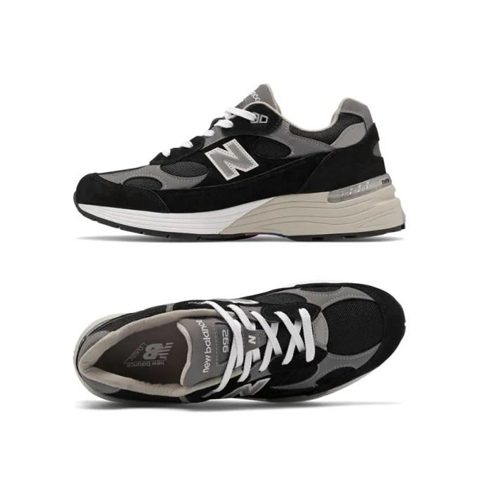 "New Balance M992 EB ""Black/Grey/White"" (ニューバランス ""ブラック/グレー/ホワイト"")"