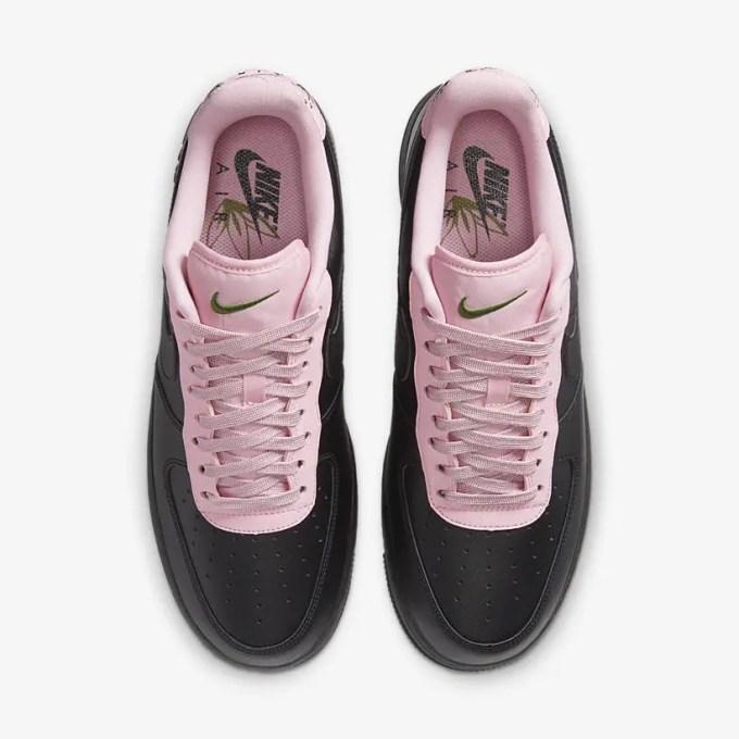 """ナイキ エア フォース 1 ロー """"ブラック/ピンク"""" (NIKE AIR FORCE 1 LOW """"Black/Pink"""") [CJ1629-001]"""