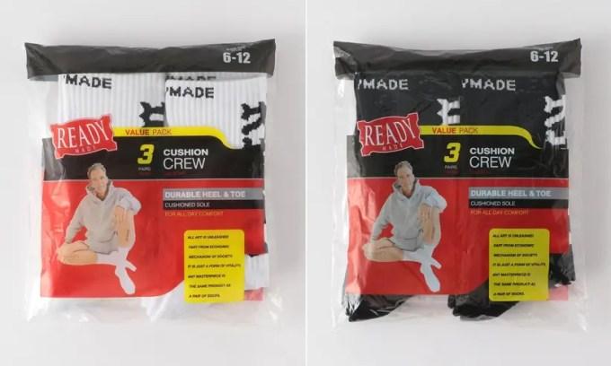 READYMADE × CALI THORNHILL DEWITT 3P SOCKSがUNITED ARROWS オンラインにて発売 (レディメイド カリ・ソーンヒル・デウィット)