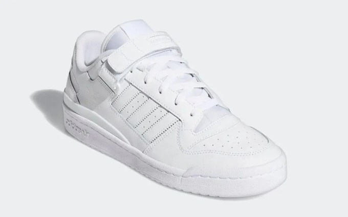 """adidas Originals FORUM LOW """"Triple White"""" (アディダス オリジナルス フォーラム ロー """"トリプルホワイト"""") [FY7755]"""