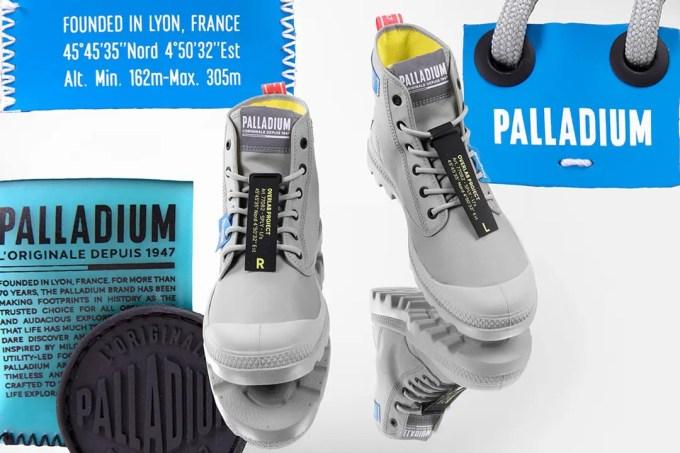 パラディウム オーバーラボシリーズからスタイリッシュな軽量スニーカーが発売 (PALLADIUM)