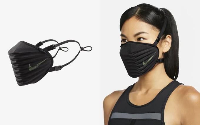 NIKE 史上初のストラップ付き高性能マスク「ナイキ ベンチュラー」が発売 (Venturer Performance Face Mask) [DO8356-010]
