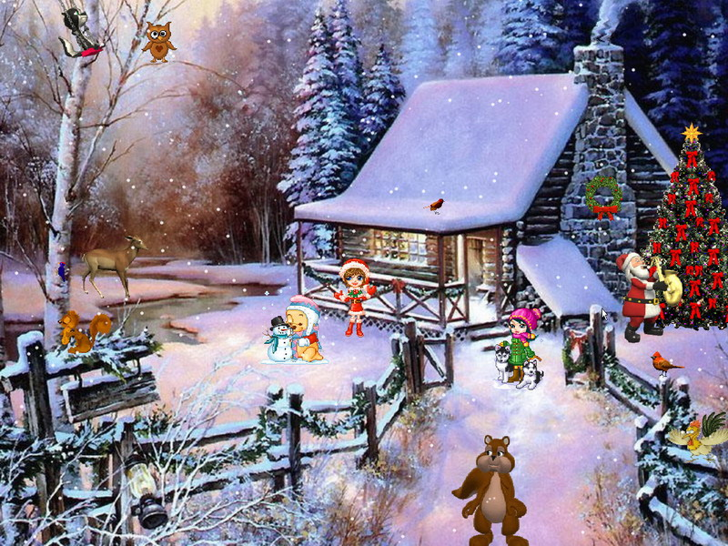3d Animated Wallpapers For Windows 7 Christmas Adventure 2 Screensaver For Windows Christmas