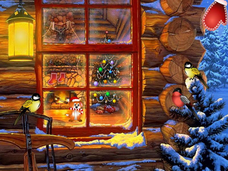 christmas fantasy screensaver for