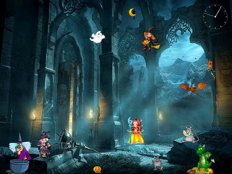 Funny Halloween Halloween Screensaver