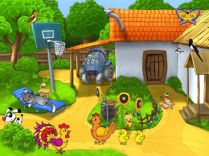 Summer Farm Screensaver  Free Summer Screensaver