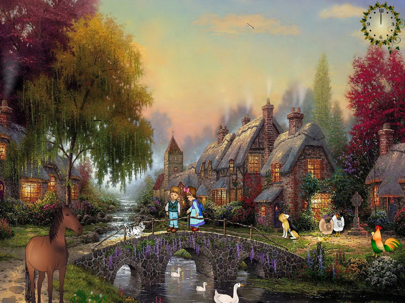 Animated Waterfalls Wallpapers Free Download Animals Screensaver Warmth Of Home Fullscreensavers Com
