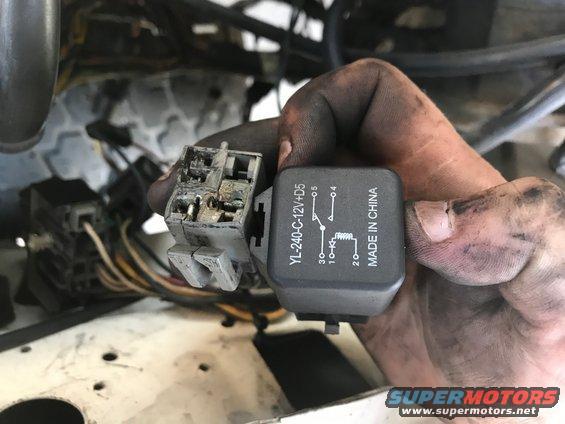 89 Ford Bronco Fuel Pump Wiring Diagram