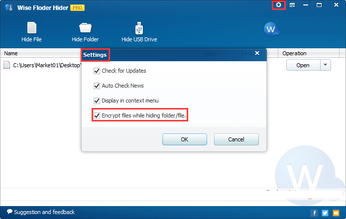 Wise Folder Hider Pro Latest version